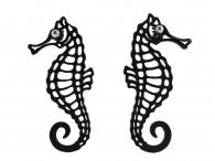 Boucles d'oreille  Hippocampe - Cavalo marinho