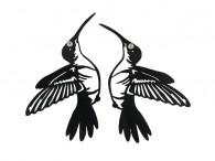 Boucles d'oreille Colibri - Beija-flor