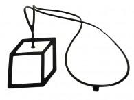 Collier Pendentif Cube - Cubo