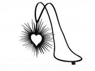 Collier Pendentif Open Heart