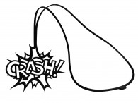 Collier Pendentif Crash!