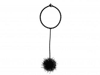 Collier Long Pom Pom