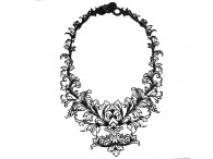 Collier Court Baroque - Barroco
